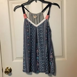 Cute top!  Size small